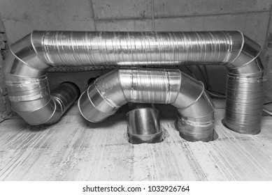 Ventilation ducts. many of the same bent metal components the air duct. Aluminum air pipe for air duct