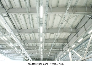 ventilation in industrial production. ceiling