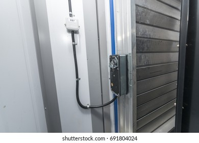 The ventilation louver with the actuator