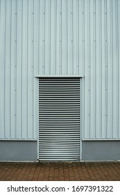 ventilation out of a building with pattern