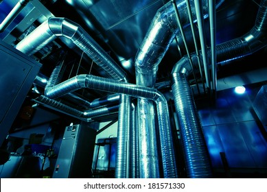 Ventilation pipes of an air conditioner