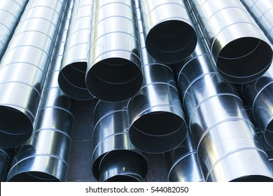 Ventilation pipes. Ventilation. Ventilation system.