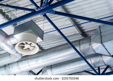 Ventilation shafts of industrial level