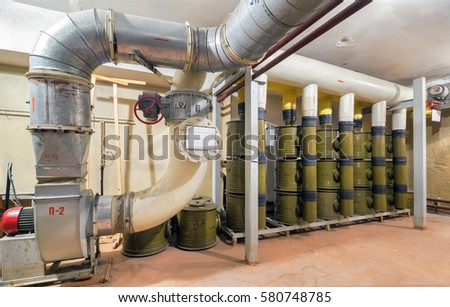 Ventilation system with air