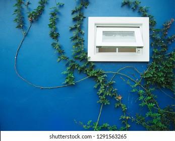 Ventilation window in the bathroom