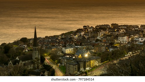 Ventnor, Isle of Wight at Dusk