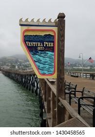 Ventura Pier along the California Coast
