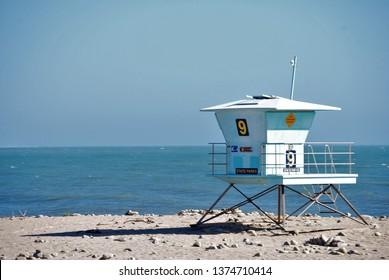 Ventura Pier Lifeguard Tower, California