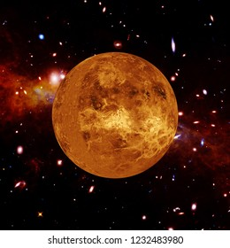 Venus. The elements of this image furnished by NASA.