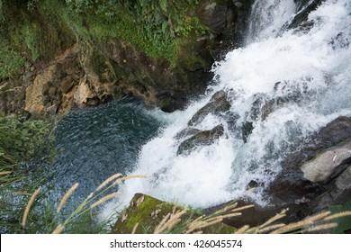 veracruz park Waterfall in Xalapa, Texolo Xico Mexico