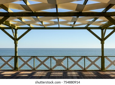 Veranda with sea view