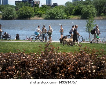 verdun-montreal, quebec, canada 23 june 2019