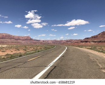 Vermillion Cliffs Highway in Arizona
