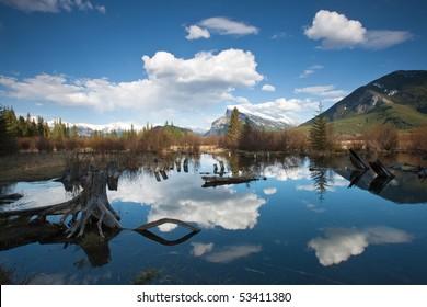 Vermillion Lakes, Banff, Alberta, Canada