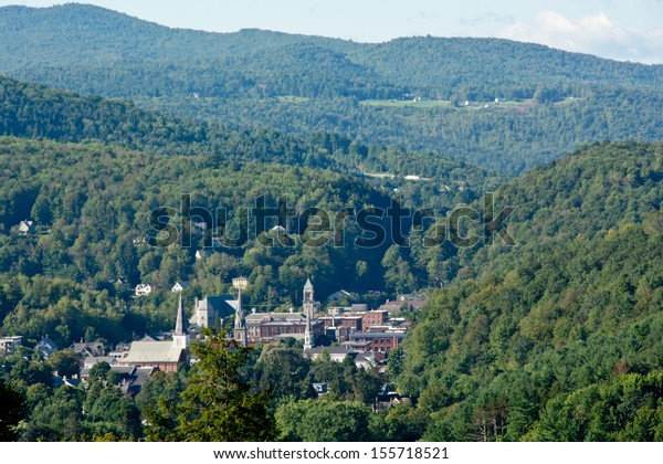 Vermont's state capitol is nestled in the heart of the Green Mountains.