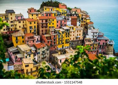 Vernazza, Cinque Terre, Liguria, old fishing village