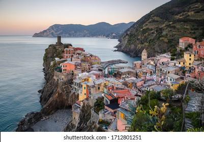 Vernazza, Cinque Terre natural park, Liguria, Italy