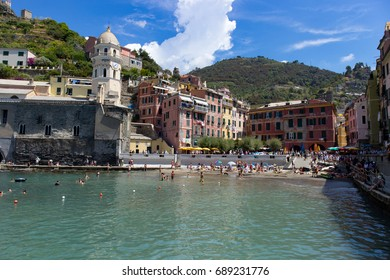 Vernazza town beach Cinque terre