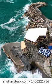 Vernazzaa, Cinque Terre, ligurische Rivera, Provinz La Spezia, Ligurien, Italien