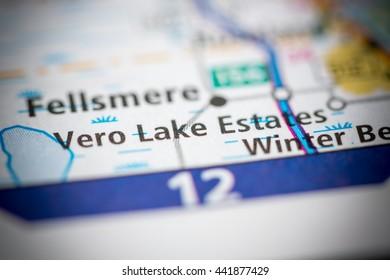 Vero Lake Estates. Florida. USA