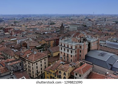 Verona from above in Italy