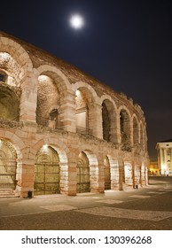 Verona - Arena at night