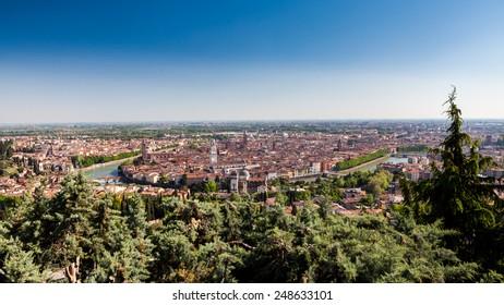 Verona City in Italy