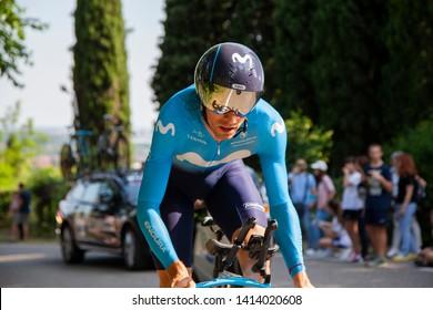 Verona, Italy. 06-02-2019:  Giro d'Italia last stage. Primoz Roglic. 3rd place.