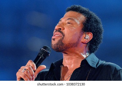 "Verona Italy 09/05/2006, Arena : Lionel Richie in concert during the musical event ""Festivalbar 2006""."