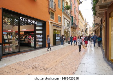VERONA, ITALY - CIRCA MAY, 2019: entrance to Sephora store in Verona. Sephora is multinational chain of personal care and beauty stores.
