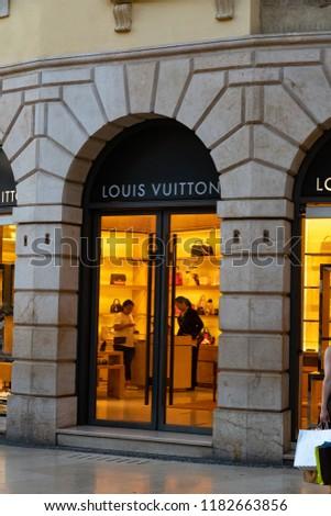 eaf6d54539774 Verona Italy September 5 2018 Louis Stock Photo (Edit Now ...