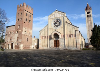 Verona is the most beautiful city in the Veneto after Venice. The river of Verona is the Adige that surrounds it. The Basilica of San Zeno is the most important Romanesque treasure of Verona