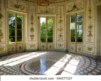 VERSAILLES, FRANCE - JULY 22, 2015: Building at the Palace of Versailles