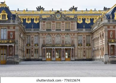 Versailles; France - june 26 2017 : the Versailles palace