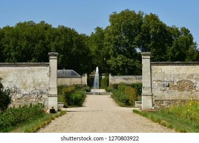 Versailles, France - september 2 2018 : Le Potager du roi in the Saint Louis district near the castle