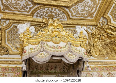 Versailles - Frencia, August 2011, 25. Interior of Chateau de Versailles (Palace of Versailles). Versailles palace is in UNESCO World Heritage Site list since 1979.