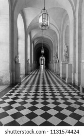 Versailles interior in Black and White