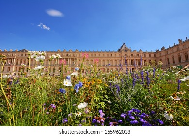 Versailles palace, France in summer.
