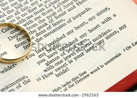 song of solomon wedding verse
