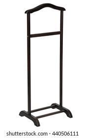 vertical bedside hanger for shirts on wheels
