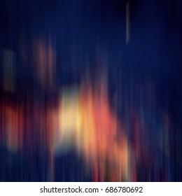 Vertical Color Lines Blurred Dark Background