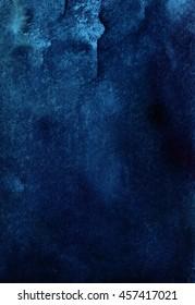vertical dark blue watercolor background