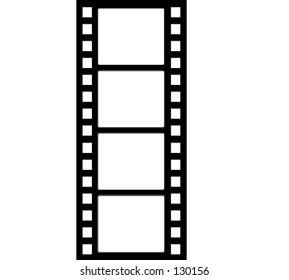 Vertical film strip