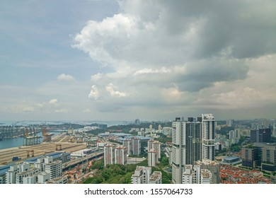 Vertical housing or HDB is the major housing in Singapore, 2019 Oct 17