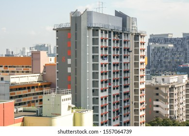 Vertical housing or HDB is the major housing in Singapore, 2019 Oct 16