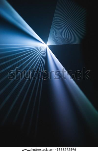 Vertical Lens Flare Shot Beautiful Textures Stock Photo Edit Now