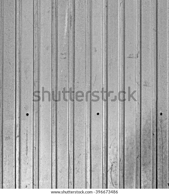 Vertical Metal Siding Stock Photo (Edit Now) 396673486
