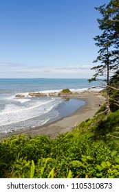 Vertical Photo of Ruby Beach in Olympic National Park Washington State