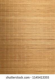 vertical planks natural  bamboo mat background texture