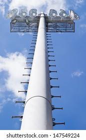 Vertical Stadium Floodlight Tower